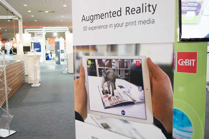 appear2media rockt die Cebit 2017 mit dem neuen Augmented Reality White Label System