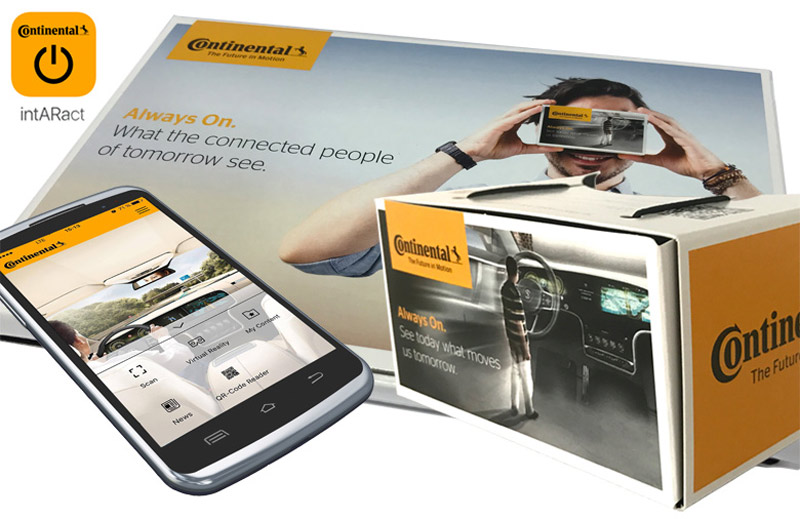 IntARact – appear2media baut für Continental eine Mixed Reality App
