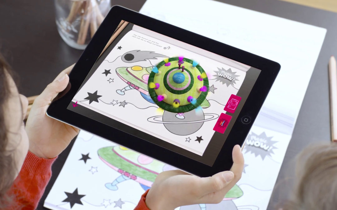 Magic WOW! App – Finally you can buy the magical colouring books with aha-effect