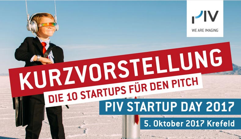 Augmented Reality Startup pitcht beim PIV Startup Day 2017