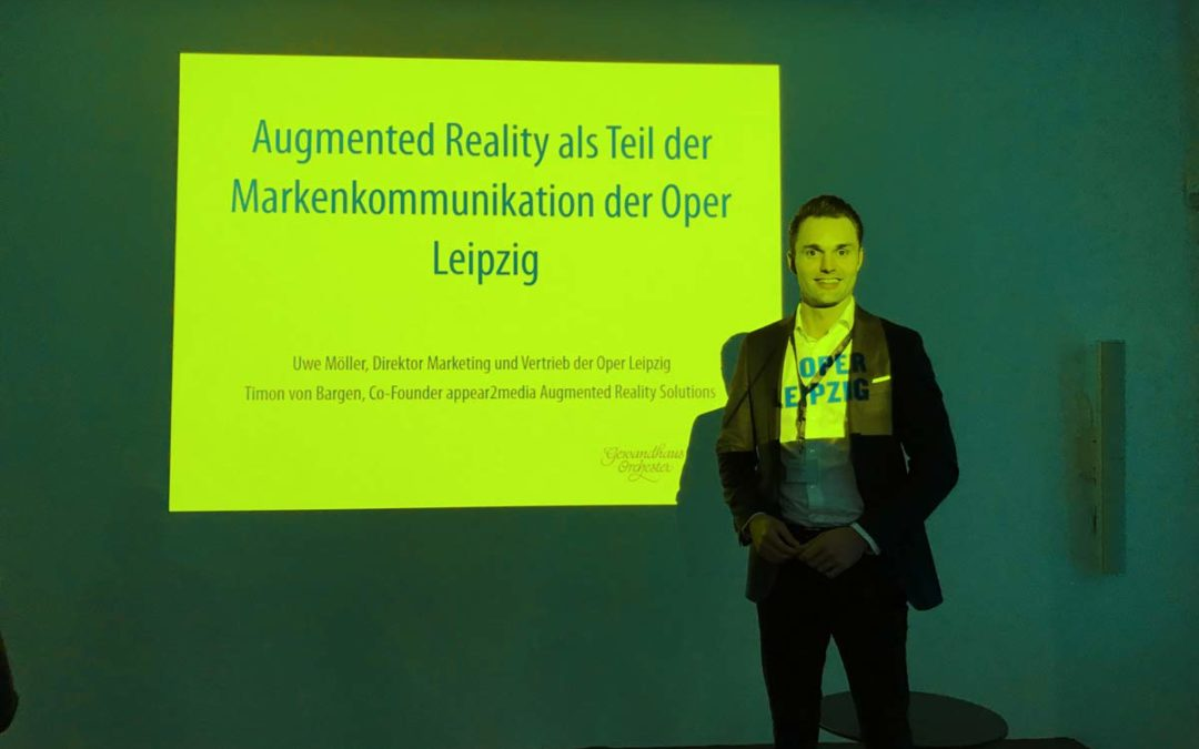 appear2media mit der Oper Leipzig bei dem KulturInvest-Kongress 2017 in Berlin