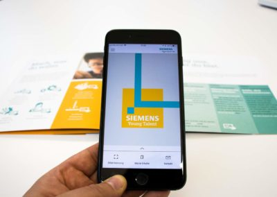 Siemens Young Talent AR App